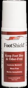2Toms FootShield Roll - Sportcrème - 90 ml